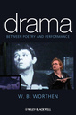 Couverture de l'ouvrage Drama: poetry and performance