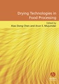 Couverture de l'ouvrage Drying technologies in food processing