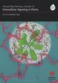 Couverture de l'ouvrage Intracellular signalling in plants (Annual plants reviews, Vol. 33)