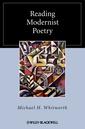 Couverture de l'ouvrage Reading modernist poetry (hardback)