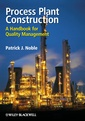Couverture de l'ouvrage Process plant construction: a handbook for quality management