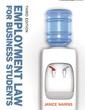 Couverture de l'ouvrage Employment law for business students (3rd ed )