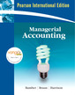 Couverture de l'ouvrage Managerial accounting (+ My accounting Labcourse compass student access code card)