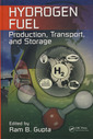 Couverture de l'ouvrage Hydrogen fuel: Production, transport & storage