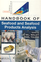 Couverture de l'ouvrage Handbook of seafood & seafood products analysis