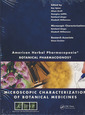 Couverture de l'ouvrage American herbal pharmacopoeia: botanical pharmacognosy-microscopic characterization of botanical medicines