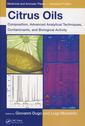 Couverture de l'ouvrage Citrus oils: advanced analytical techniques, composition & biological activity (Medicinal & aromatic plants industrial profiles)