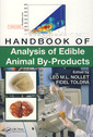 Couverture de l'ouvrage Handbook of analysis of edible animal by-products
