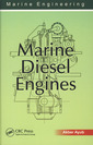 Couverture de l'ouvrage Marine diesel engines (marine engineering)