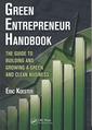Couverture de l'ouvrage Green Entrepreneur Handbook