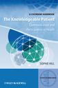 Couverture de l'ouvrage Knowledgeable patient - communication and participation in health (paperback)