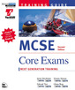 Couverture de l'ouvrage MCSE training guide : core exams (with CD-ROM) 2nd edition