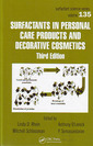 Couverture de l'ouvrage Surfactants in personal care & decorative cosmetics