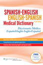Couverture de l'ouvrage Spanish-English English-Spanish Medical Dictionary