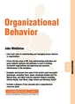 Couverture de l'ouvrage Organizational behavior - organizations 08 10