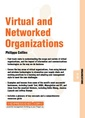 Couverture de l'ouvrage Virtual & networked organizations organizations 07 03
