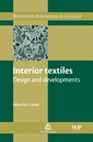 Couverture de l'ouvrage Interior Textiles