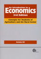 Couverture de l'ouvrage An introduction to economics : concepts for students of agriculture and the rural sector