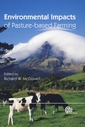 Couverture de l'ouvrage Environmental impacts of pasture-based farming