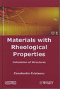 Couverture de l'ouvrage Materials with Rheological Properties. Calculation of Structures