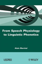 Couverture de l'ouvrage From Speech Physiology to Linguistic Phonetics