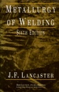 Couverture de l'ouvrage Metallurgy of Welding