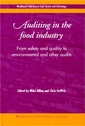 Couverture de l'ouvrage Auditing in the Food Industry