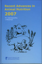 Couverture de l'ouvrage Recent advances in animal nutrition 2007 with CD-ROM