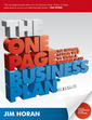 Couverture de l'ouvrage The one page business plan uk edition: the fastest, easiest way to write a business plan