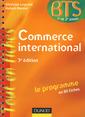 Couverture de l'ouvrage Commerce international. Le programme en 80 fiches (BTS 1er et 2e années)