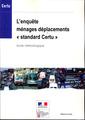 Couverture de l'ouvrage L'enquête ménages déplacements Standard Certu