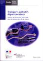 Couverture de l'ouvrage Transports collectifs départementaux