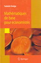 Couverture de l'ouvrage Mathématiques de base pour économistes