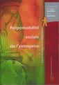 Couverture de l'ouvrage Responsabilité sociale de l'entreprise. Enjeux de gestion et cas pédagogiques