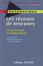 Couverture de l'ouvrage Les réseaux de neurones : présentation & applications