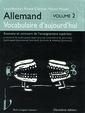 Couverture de l'ouvrage Allemand : vocabulaire d'aujourd'hui Volume 2