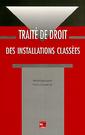 Couverture de l'ouvrage Traité de droit des installations classées