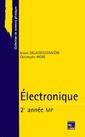 Couverture de l'ouvrage Electronique 2ème année MP