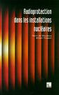 Couverture de l'ouvrage Radioprotection dans les installations nucléaires