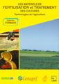 Couverture de l'ouvrage Matériels de fertilisation et de traitement des cultures (Formagri Vol.4/5 en un seul tome)
