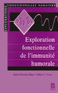 Couverture de l'ouvrage Exploration fonctionnelle de l'immunité humorale