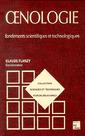Couverture de l'ouvrage Œnologie