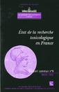 Couverture de l'ouvrage Etat de la recherche toxicologique en France : De la formation des hommes à l'évaluation des nouveaux besoins (Rapport commun AS CADAS N°9)
