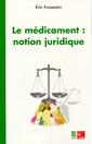 Couverture de l'ouvrage Le médicament :