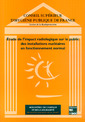 Couverture de l'ouvrage Etude de l'impact radiologique sur le public des installations nucléaires en fonctionnement normal