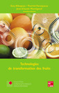 Couverture de l'ouvrage Technologies de transformation des fruits