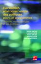 Couverture de l'ouvrage L'évaluation environnementale des politiques, plans et programmes