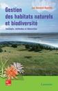 Couverture de l'ouvrage Gestion des habitats naturels et biodiversité