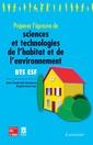 Couverture de l'ouvrage Préparer l'épreuve de sciences et technologies de l'habitat et de l'environnement