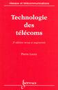 Couverture de l'ouvrage Technologie des télécoms